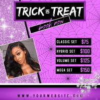 Boutique Advertisement - Trick or Treat v.1 Publicación de Instagram template