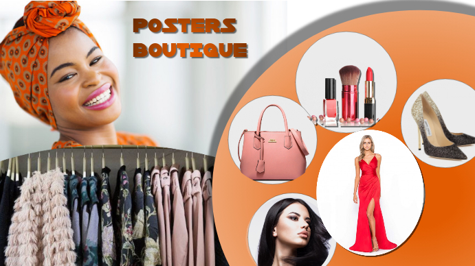 Boutique Voorlegging (16:9) template