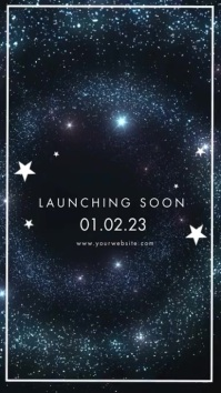 Boutique Launching Soon Banner Ad Instagram na Kuwento template