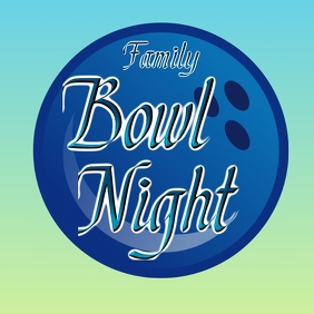 Family bowl night outing fun event