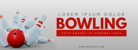 bowling facebook cover template