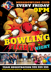 BOWLING FIGHT POSTER