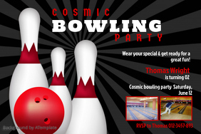 15 820 customizable design templates for bowling party postermywall