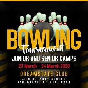 Bowling Tournament Square Video