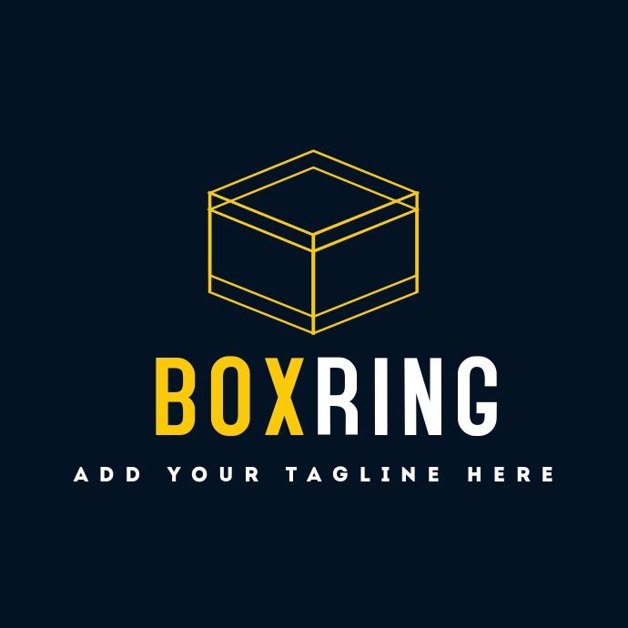 Box ring logo icon