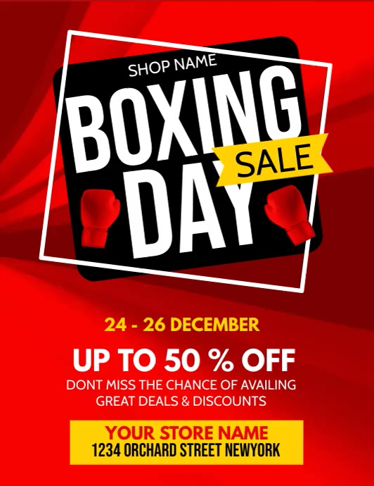 Boxing day, boxing day sale