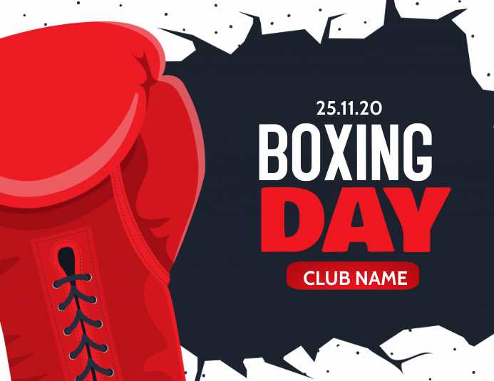 boxing day,retail Ulotka (US Letter) template