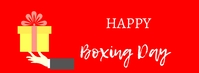 Boxing Day Fotografia de capa do Facebook template