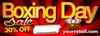 Boxing Day Facebook Header