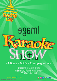Boxing day Karaoke Show