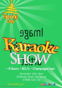 Boxing day Karaoke Show