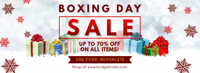 Boxing Day Online Promo Sale Banner
