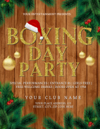 Boxing Day Party Event Flyer Template