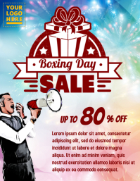 Boxing day sale event