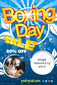 Boxing Day Sale Event Flyer