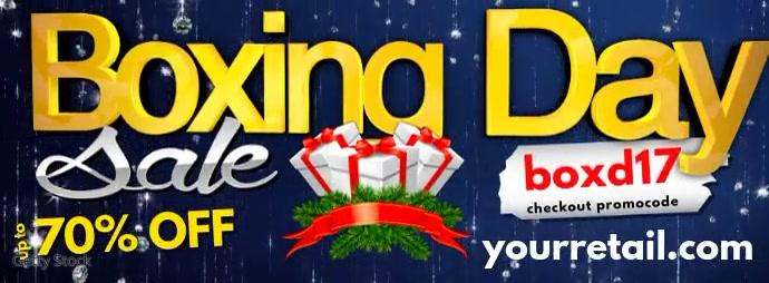 Boxing Day Sale Facebook Header