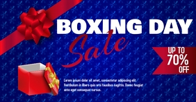 Boxing Day Sale Facebook shared template