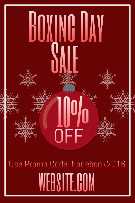 PROMO CODE POSTER MY WALL
