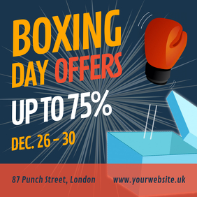 Boxing Day Sale Instagram Post
