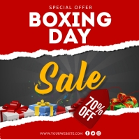 Boxing Day Sale Instagram Post Template