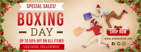 Boxing Day Sale Special Sale Retail Banner