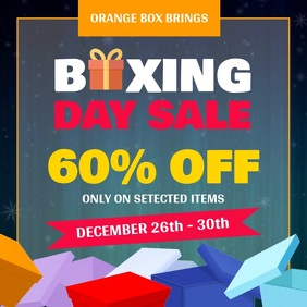 Boxing Day Sale Square Video