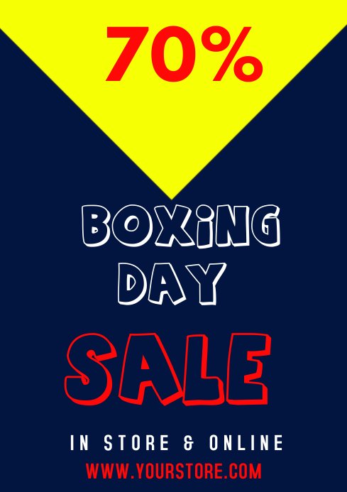 BOXING DAY SALE TEMPLATE A1