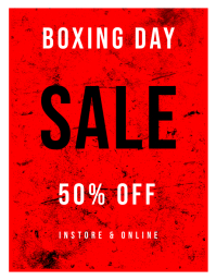 boxing day sale template Folder (US Letter)