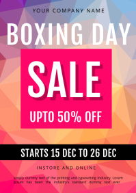 BOXING DAY SALE TEMPLATE A3