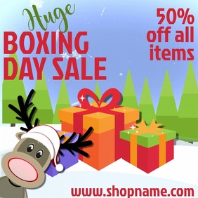 Boxing Day Sale Video Template