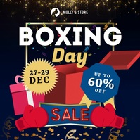 Boxing Day Square Ad Carré (1:1) template