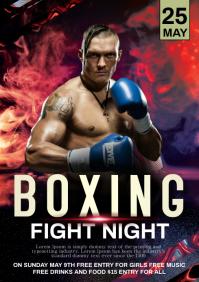Boxing fight night