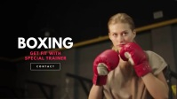 Boxing - Fitness Workout/Crossfit Video template