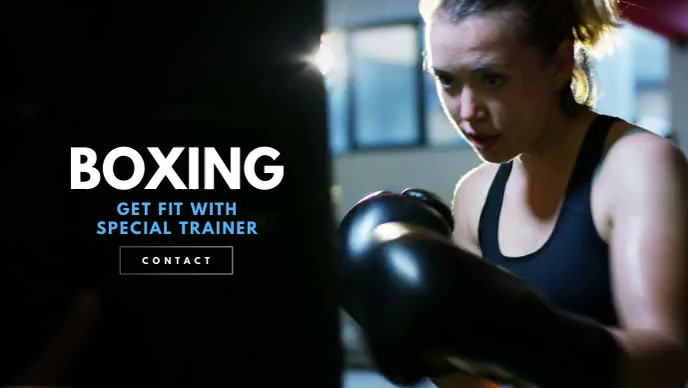 Boxing - Fitness Workout/Crossfit Video
