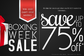 Boxing Gift Retail Holiday Sale Discount Black Friday Store