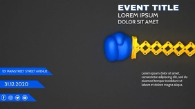 BOXING GLOVES FLYER TEMPLATE