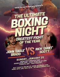 Boxing Night Flyer
