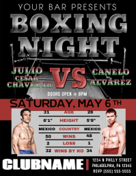 Boxing Night Poster