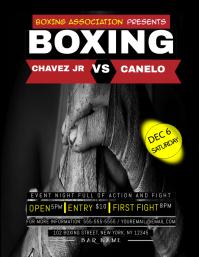 Boxing Night Flyer