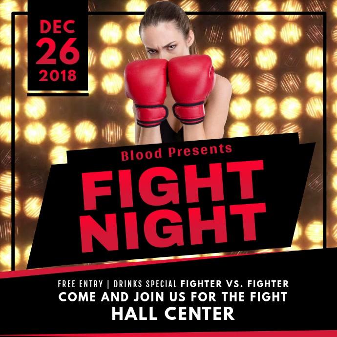Boxing Night Square Video