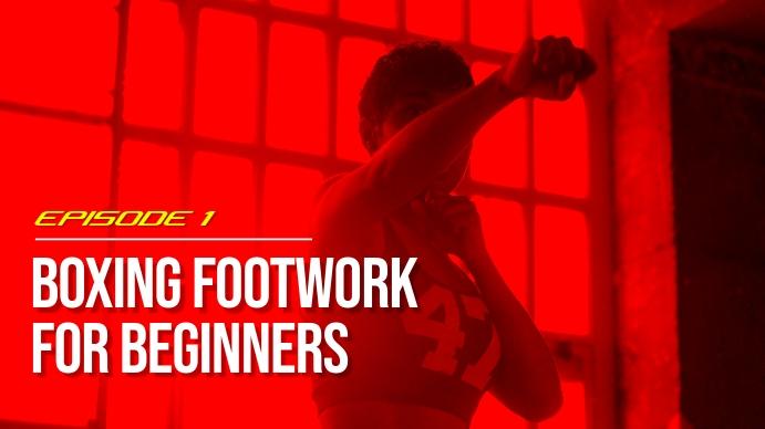 Boxing youtube thumbnail YouTube-thumbnail template