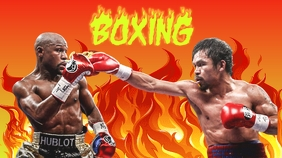 BOXING.01 Miniatura do YouTube template