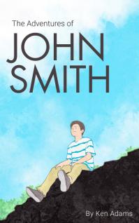 Boy Adventure Book Cover Template