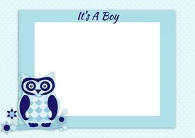 Boy Baby Shower Invitation