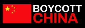 Boycott China Banner Template