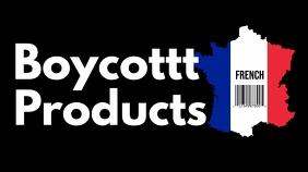 Boycott Products Pos Twitter template
