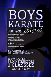 Boys Karate