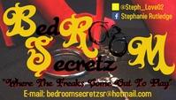 BR Secretz BC 2 Визитная карточка template