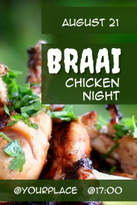 Braai chicken night