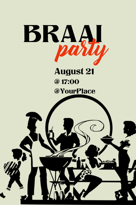 Braai party